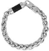 Dolan & Bullock Dolan Bullock Sterling Silver Agate Chain Bracelet