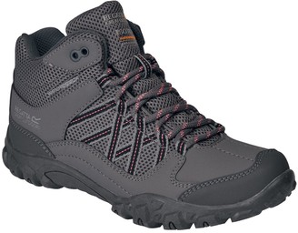 Regatta Edgepoint Mid Junior Walking Boot - Grey Coral