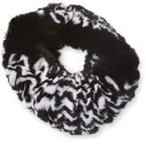 Surell Women's Rex Rabbit Fur Headband