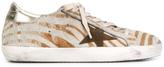 Golden Goose Deluxe Brand Zebra Superstar Sneaker