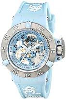 Invicta Women's 17127 Subaqua Analog Swiss Quartz Rubber Blue Watch