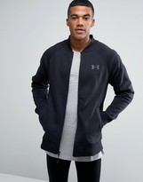 Under Armour Storm Rival Bomber Jacket In Black 1282316-001
