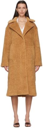 Proenza Schouler Brown Teddybear Coat