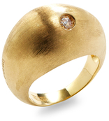 Marco Bicego Confetti Eclissi Yellow Gold & Diamond Ring