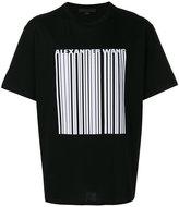 Alexander Wang welded barcode T-shirt