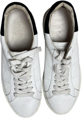 IRO Fall Winter 2019 White Leather Trainers