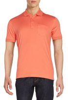 Saks Fifth Avenue Slim-Fit Cotton Polo Shirt