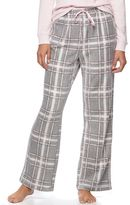 Croft & Barrow Women's Pajamas: Microfleece Pajama Pants