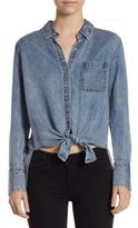 7 For All Mankind Denim Top