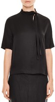 Sandro Angie High-Neck Top