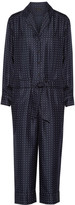 Rag & Bone Arthur polka-dot silk-twill jumpsuit