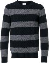 Dondup striped jumper - men - Merino - M