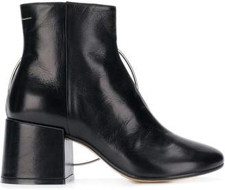 MM6 MAISON MARGIELA ring-detail ankle boots