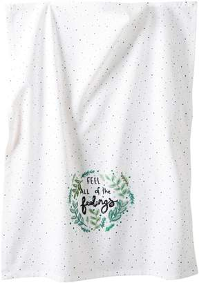 Anthropologie Home Sam Eldrige x All Of The Feelings Cotton Dish Towel