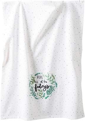 Anthropologie Sam Eldrige x All Of The Feelings Cotton Dish Towel