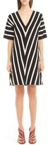 Chloé Women's Sailor Stripe Knit Shift Dress