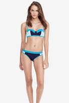 Diane von Furstenberg Mustique Colorblock Bikini Top