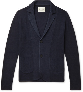 Etro Slim-Fit Ribbed Merino Wool Cardigan
