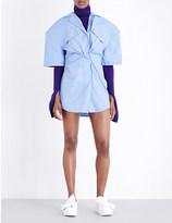 Jacquemus L'uniforme cotton dress