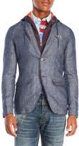 Desigual Miguel Linen-Blend Coat