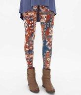 Daytrip Women's Southwestern Legging in Blue/Orange