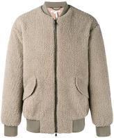 Helmut Lang shearling jacket - men - Cotton/Lamb Skin/Polyester/Viscose - S
