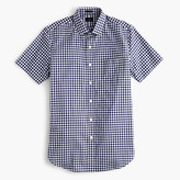 J.Crew Ludlow short-sleeve shirt in classic navy gingham