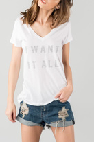 Signorelli Graphic V Neck Tee