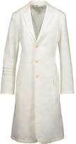 Y-3 + adidas Originals cotton-jacquard coat