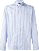 Lanvin striped chest pocket shirt