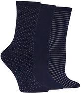 Hot Sox Printed Three Pack Trouser Socks