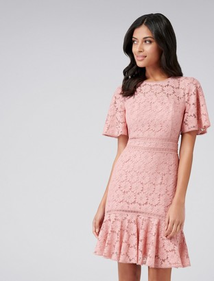 Forever New Stephanie Lace Dress - Persian Floss - 6