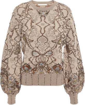 Jonathan Simkhai Embellished Knitted Sweater