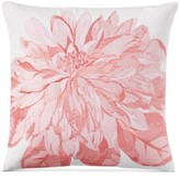 "Charter Club Damask Designs Damask Designs Embroidered Floral 16"" Square Decorative Pillow, Created for Macy's"