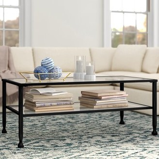 Three Posts Colmesneil Coffee Table Table Base Color: Black