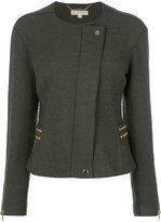 MICHAEL Michael Kors studded fitted jacket