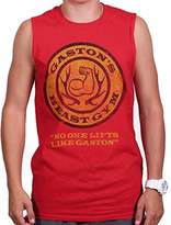Brisco Brands Beauty and The Beast Disney Shirt | Gaston leroux Gym Workout Sleeveless Tee