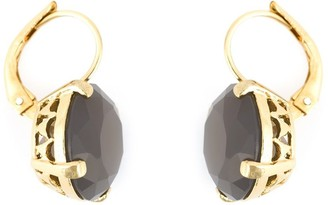 Wouters & Hendrix grey agate earrings