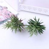 Lopkey Artificial Flora Succulents Fake Plastic Stone Plant Set of 2