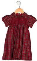 Ralph Lauren Girls' Silk Plaid Dress