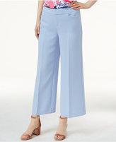 INC International Concepts Cropped Wide-Leg Pants, Only at Macy's