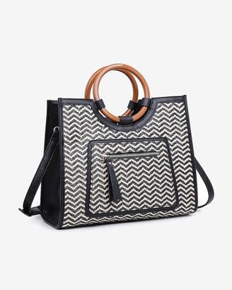 Express Moda Luxe Laguna Print Crossbody Bag