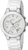 DKNY Women's NY4912 CHAMBERS Analog Display Analog Quartz Watch