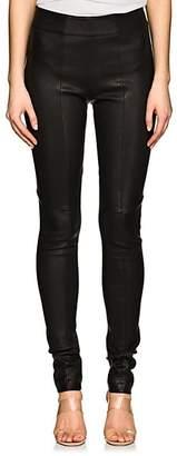 Zero Maria Cornejo Women's Stretch Leather Skinny Leggings - Black