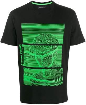Frankie Morello printed cotton T-shirt