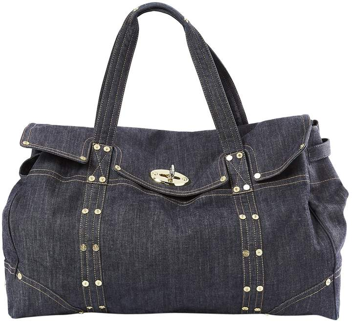 Mulberry Canvas weekend bag