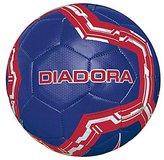 Diadora Lido Soccer Ball, Navy/Red/White - Size 3