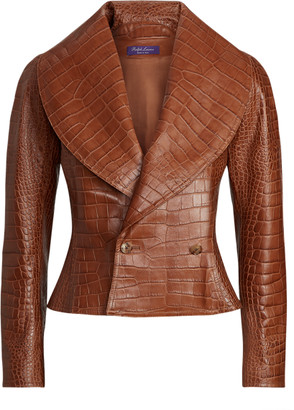 Ralph Lauren Breanna Leather Jacket