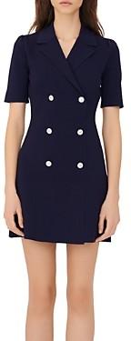Maje Ralazer Double Breasted Dress