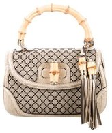 Gucci Diamante New Bamboo Top Handle